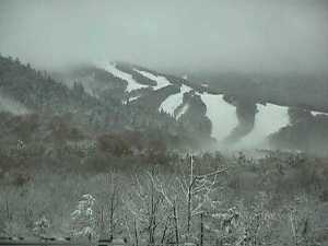 Cannon Mountain Ski Area in Franconia Notch.