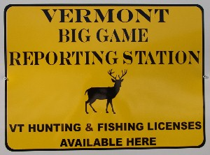 Debanville 39 s general store bloomfield for Vt fish and game license