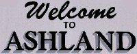 Welcome to Ashland Sign