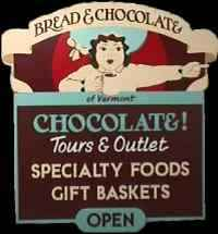 Bread and Chocolate specialty gormet chocolates and herbs - Wells River, Vermont, USA.