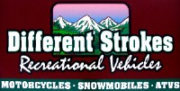 Different strokes amsoil dealer twin Mountain New Hampshire ATV, Snowmobile and Motorcycleshop sign