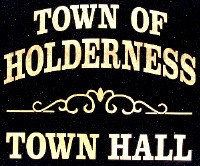 Holderness Town Hall Sign