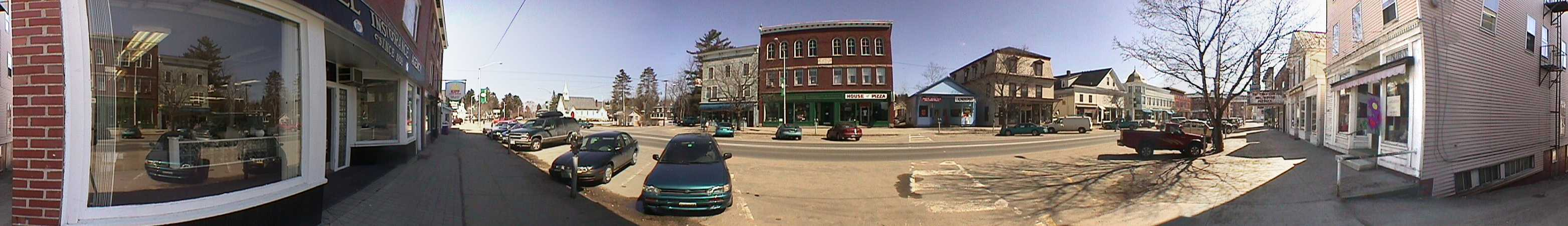 Panorama of Main Street, Lancaster, Program, Volunteers, Volunteer, NH, New Hampshire, Northern, Great North Woods, Coos County, Panorama of Main Street, Lancaster, Program, Volunteers, Volunteer, NH, New Hampshire, Northern, Great North Woods, Coos Count